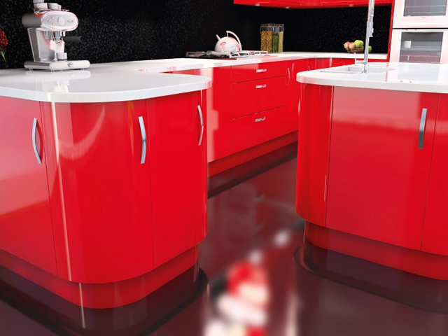 Gloss Slab Red