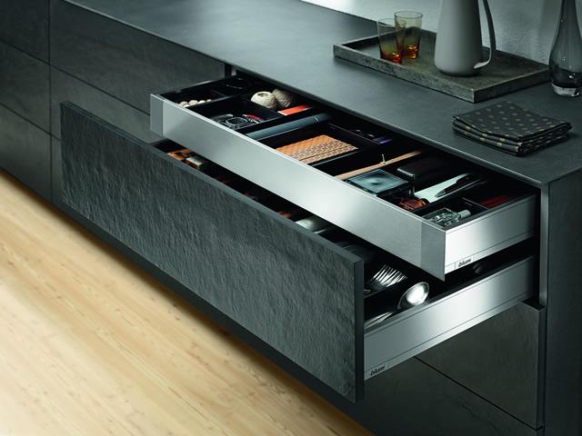 Blum Internal Cutlery Drawer