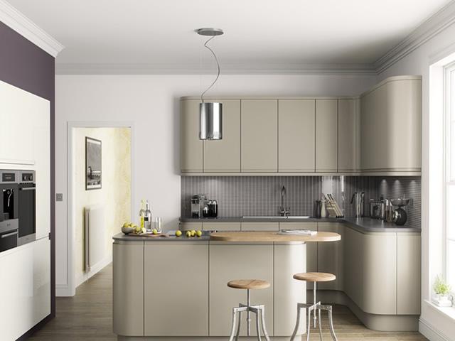 Handle Less J Pull Kitchens Blok Designs Ltd