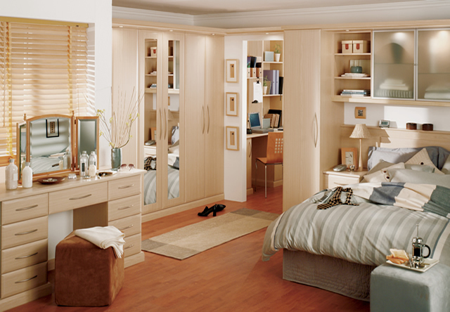 Ascot Swiss Pear Fitted Bedroom