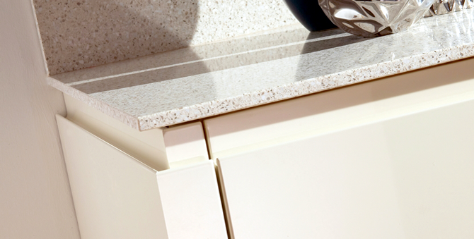 Free upgrade to Granite or Quartz worktops