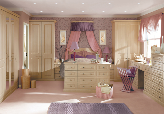 Georgian Sws Pear Fitted Bedroom
