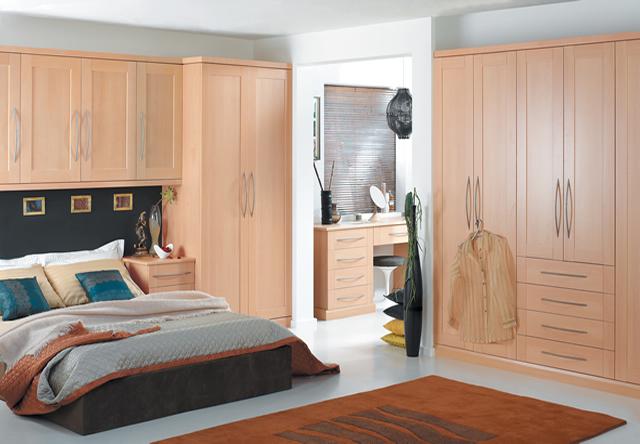 Henley Beech Fitted Bedroom