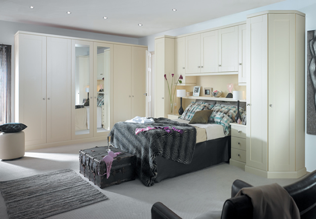 Henley Cream Fitted Bedroom