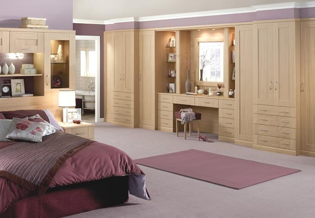 Henley Ferrara Oak Fitted Bedroom