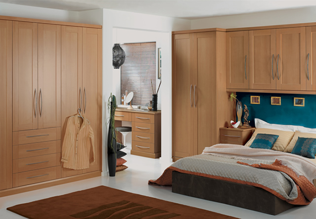 Henley Walnut Fitted Bedroom