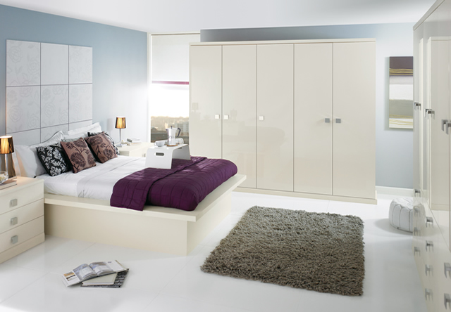 Image Gloss Oyster Fitted Bedroom