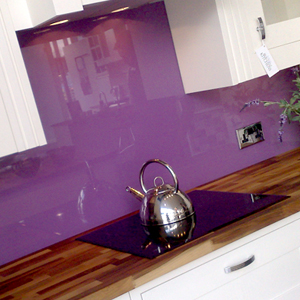 Purple Splashback