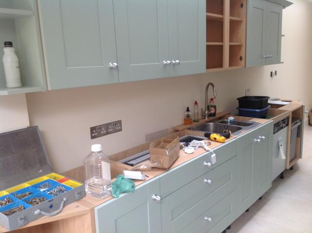 Clapham Shaker Kitchen: Kitchen Installation Clapham, South London