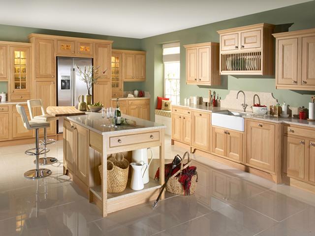 Tetbury-Natural-Oak Inframe Kitchen