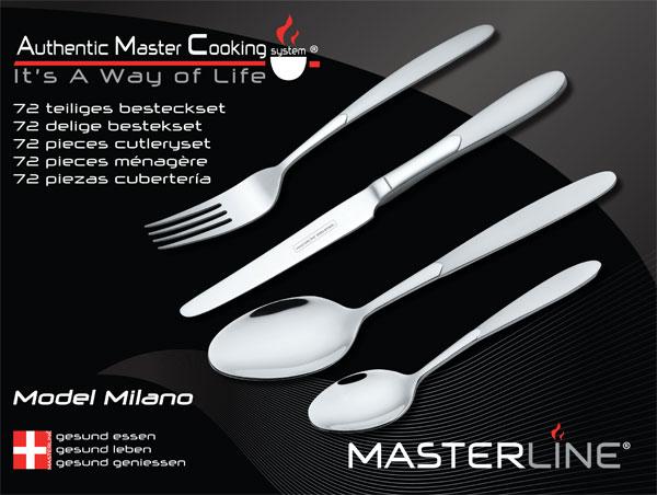 72 Piece Cutlery set