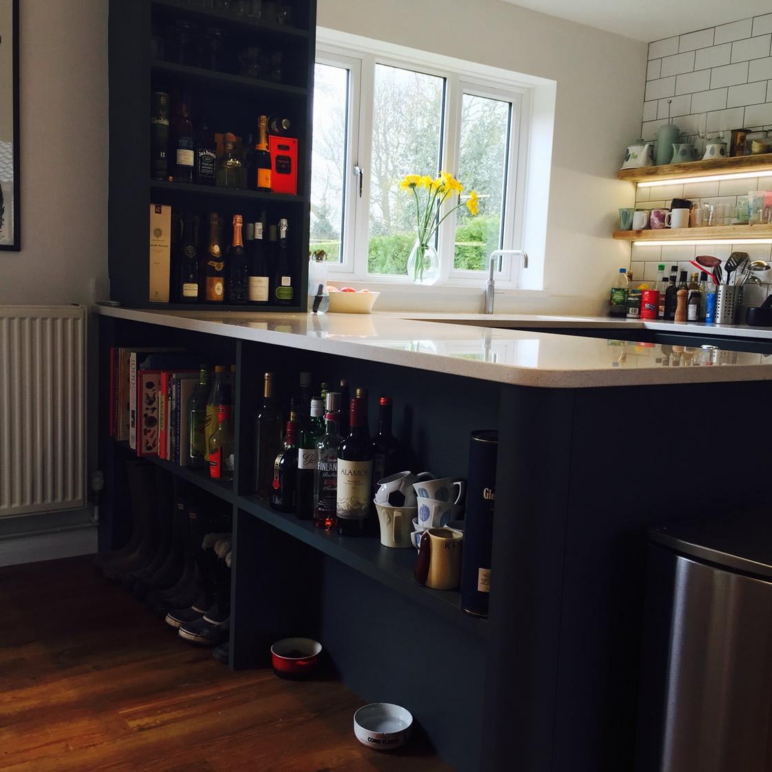 Kitchen Case Study Nutfield Surrey