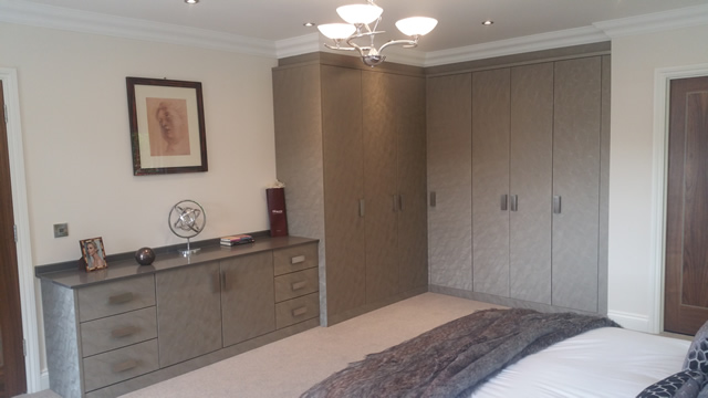 Bedroom 3 Showing Built in Wardrobes and Storage