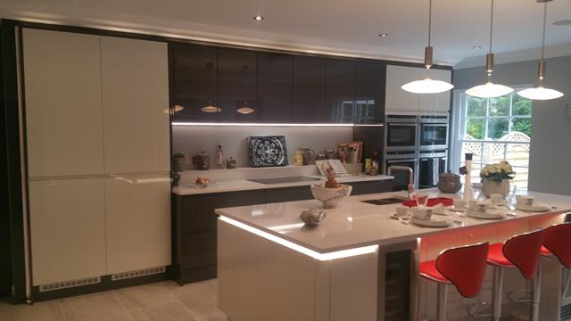 Kitchen showing View to Garden