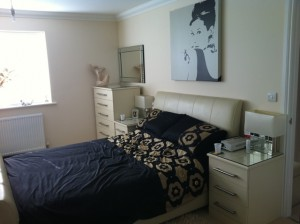 Cream Shaker Bedroom Installation