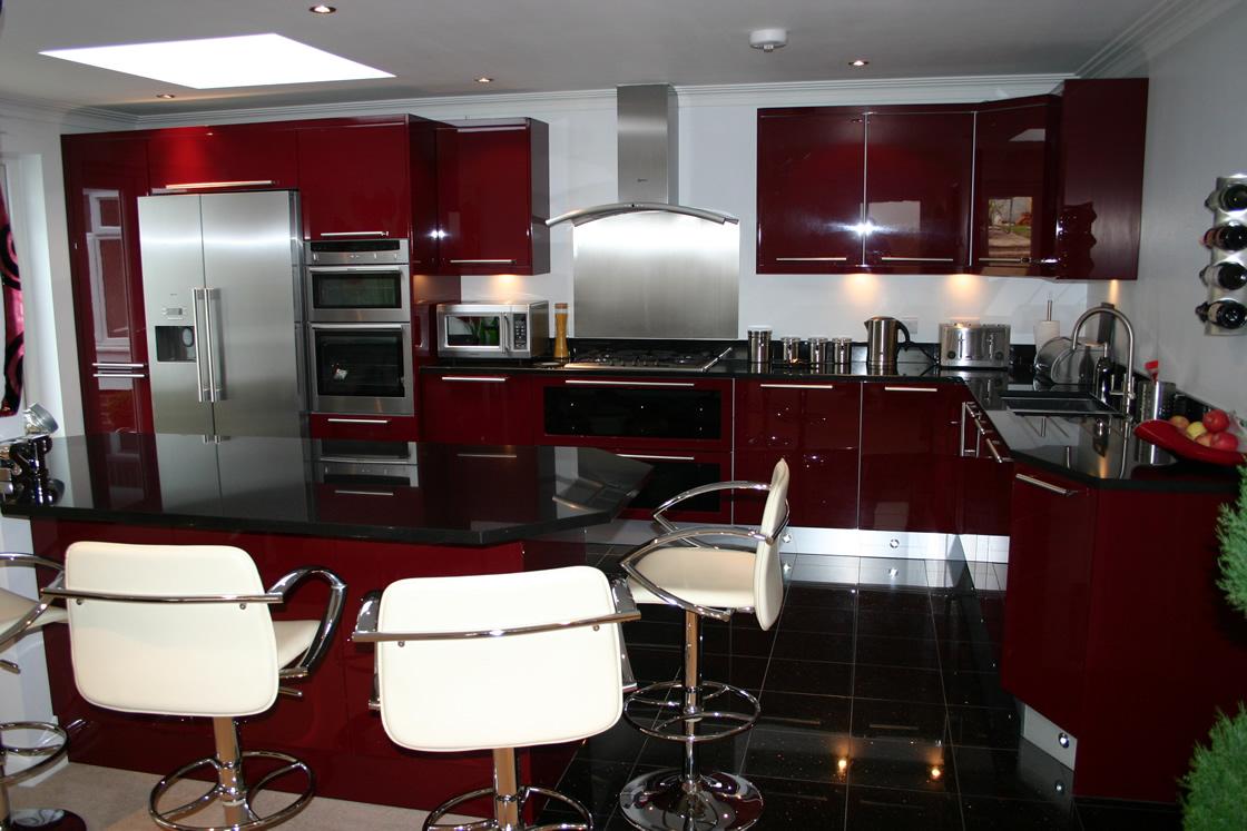 Large Bespoke Kitchen Design in Purley Surrey