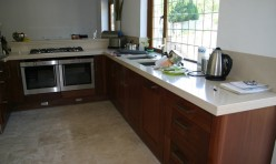 Solid Wood Walnut Kitchen Banstead