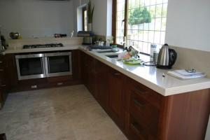 Solid Wood Walnut Kitchen Banstead