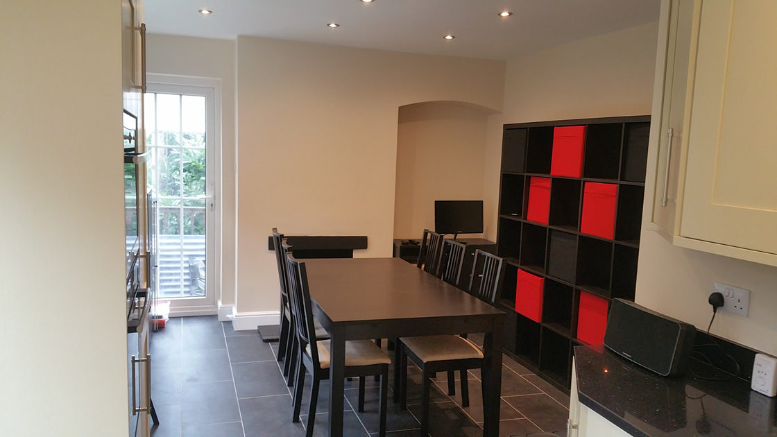 Large Kitchen Diner Redhill Surrey