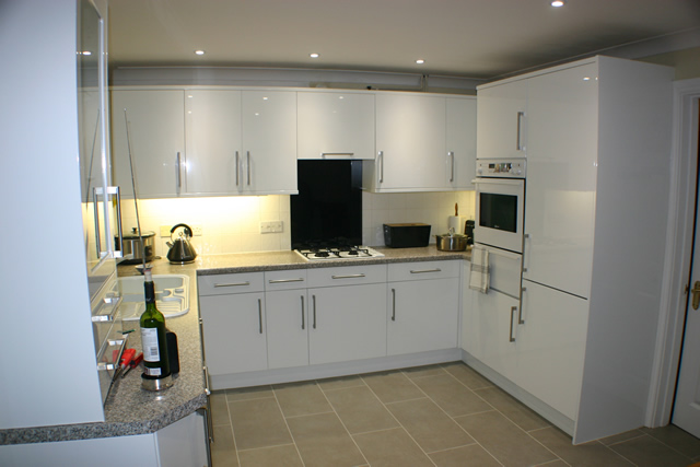 Kitchen to cooker after replacement
