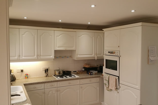 Kitchen to cooker before replacement