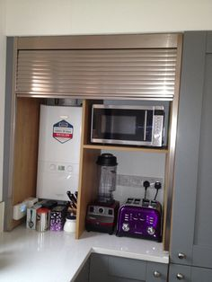 Tambour Kitchen Unit