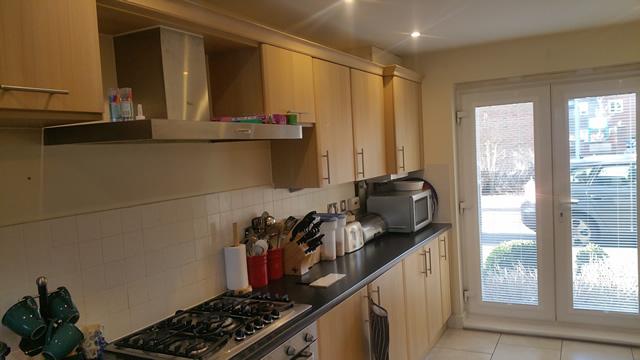 Watercolour Estate Kitchen Before