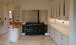 Smooth painted In-frame Kitchen Installation