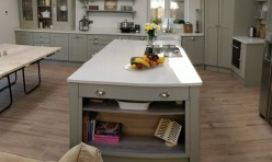 Bespoke Kitchen in French Grey