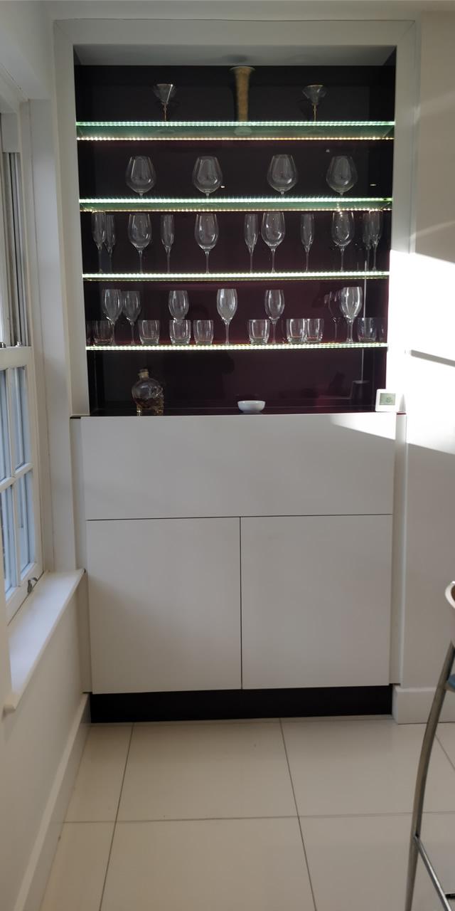 Bletchingley Bespoke Kitchen Storage