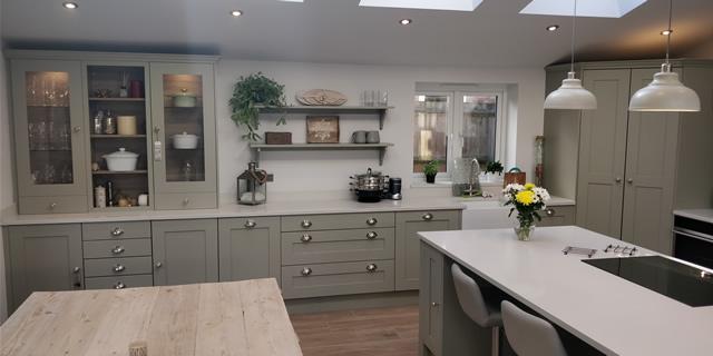 Crawley Marble Quartz Kitchen Worktops