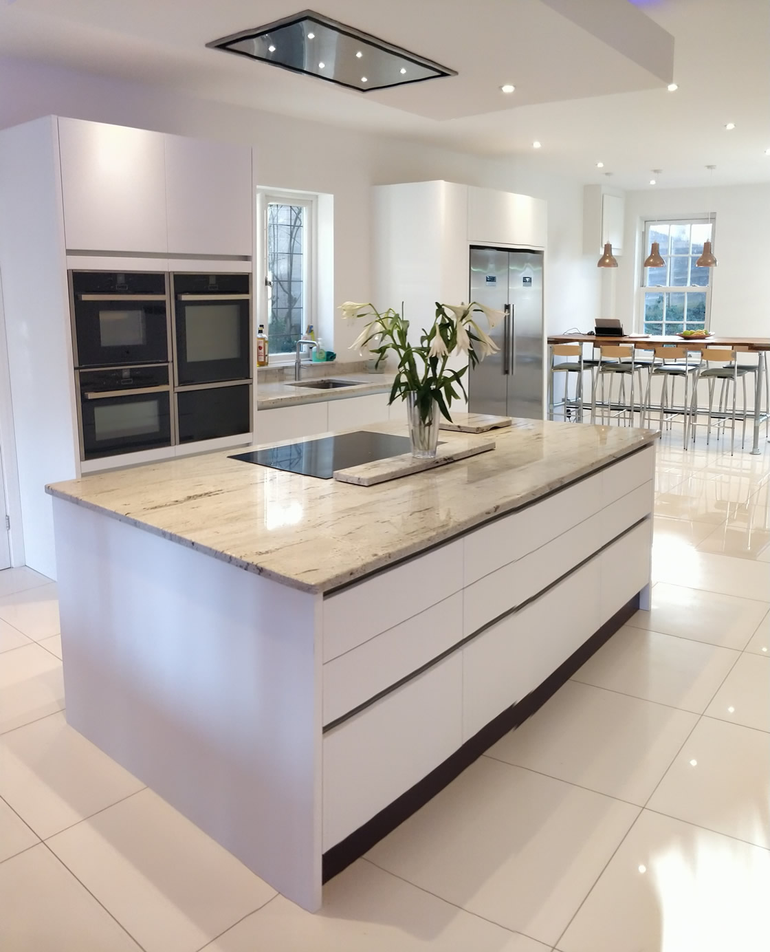 Large Bletchingley Bespoke Kitchen Design and Build
