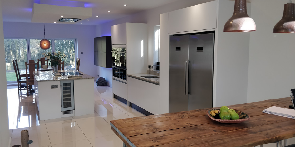 Large Bletchingley Bespoke Kitchen Design and Installation