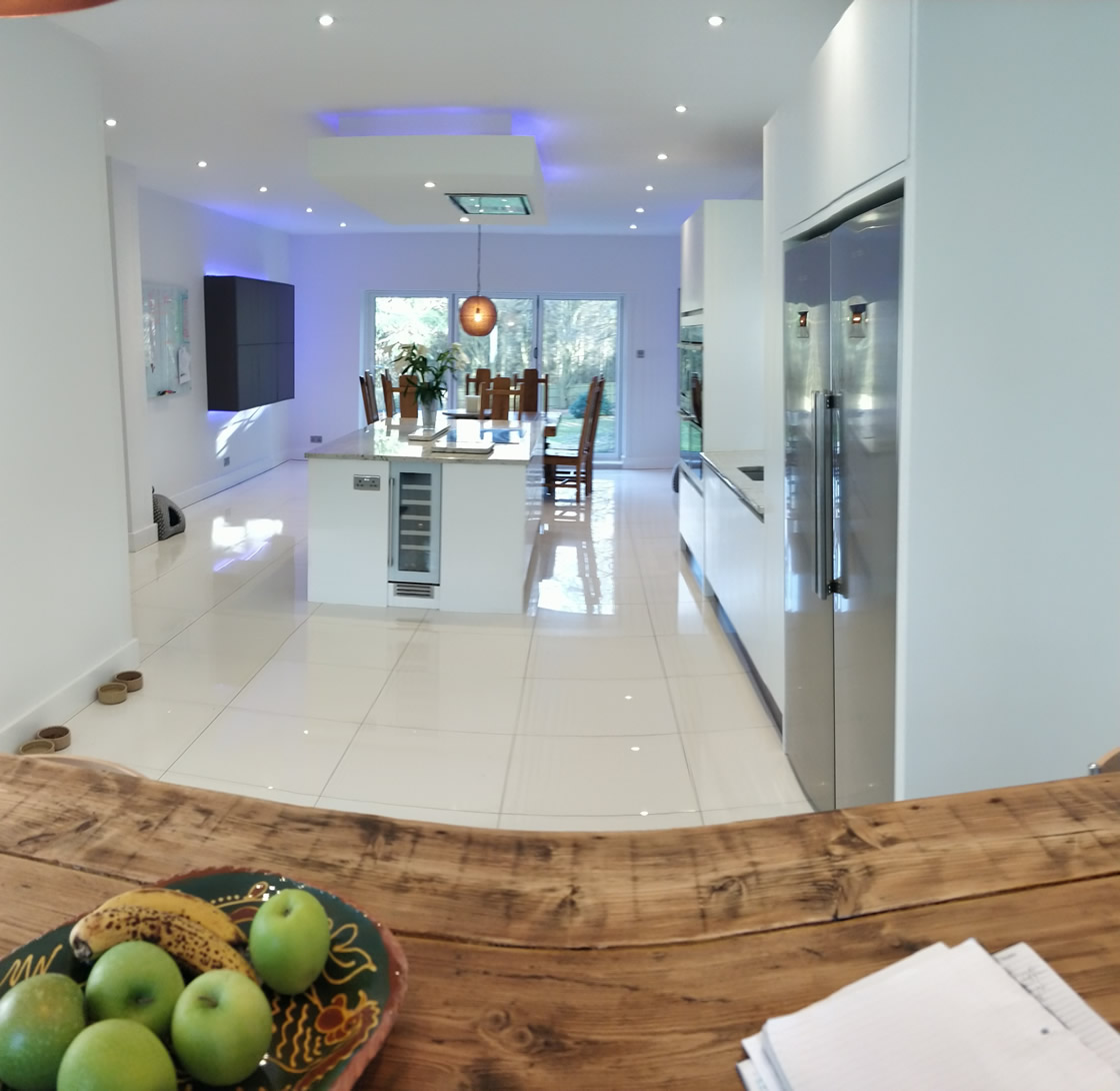 Large Bletchingley Bespoke Kitchen Design