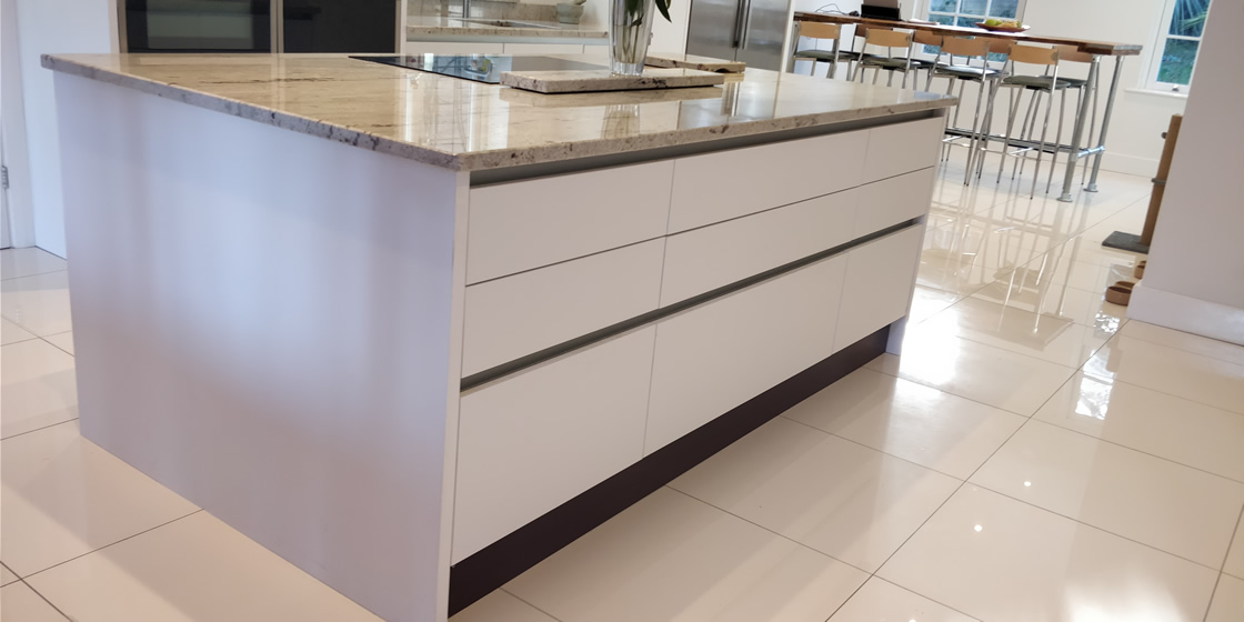 Large Bletchingley Bespoke Kitchen Island with Large Drawers