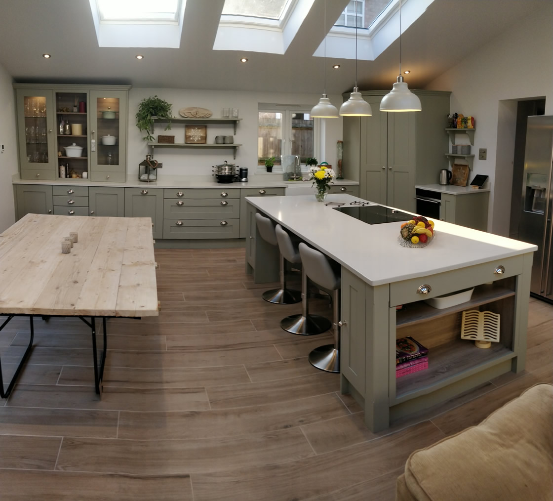 Large Crawley Bespoke Kitchen Extension