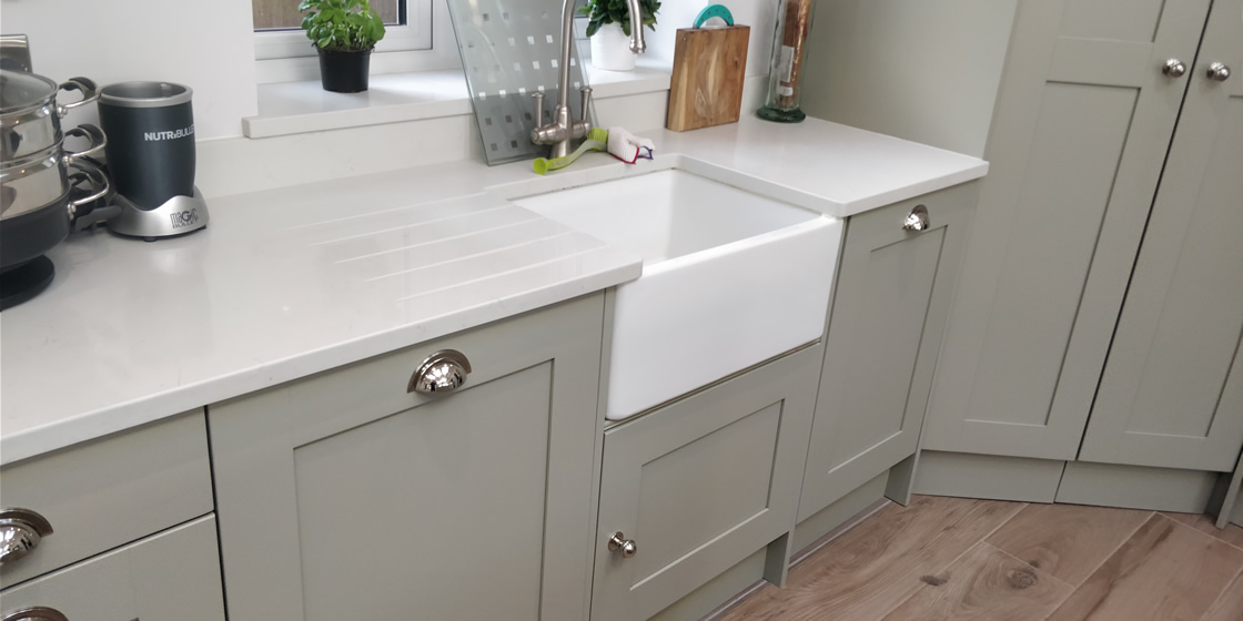 Large Crawley Bespoke Kitchen Sink