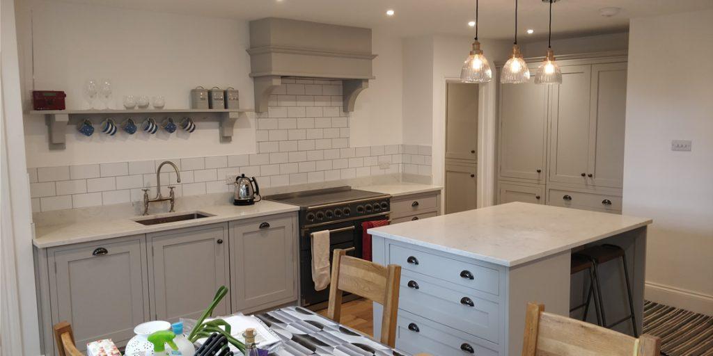 Bespoke Classic In-Frame Kitchen Installation