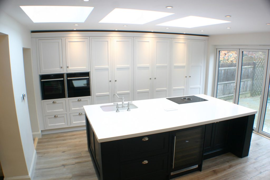 Bespoke Ash Kitchen Design in Reigate Surrey