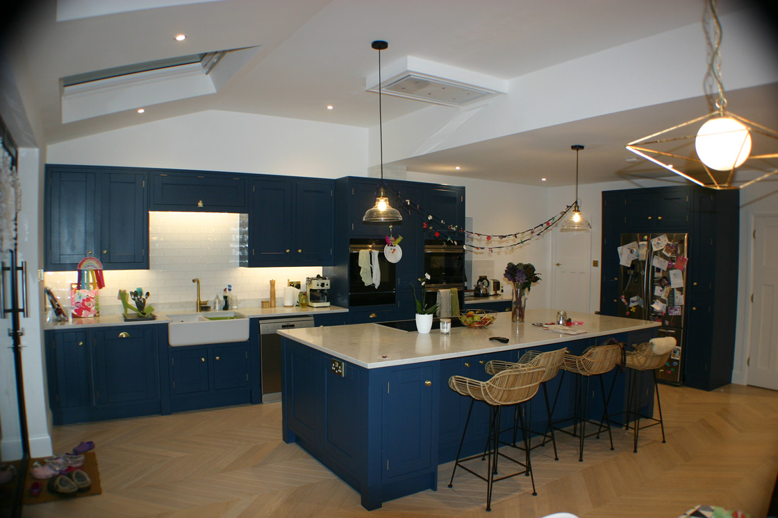 Bespoke Classic Iframe Kitchen Design Redhill Surrey