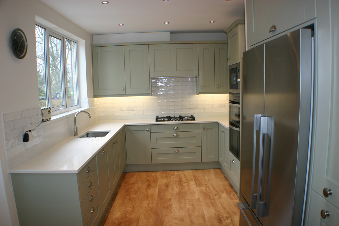 Bespoke Kitchen Designed and Installed in Carshalton Beeches