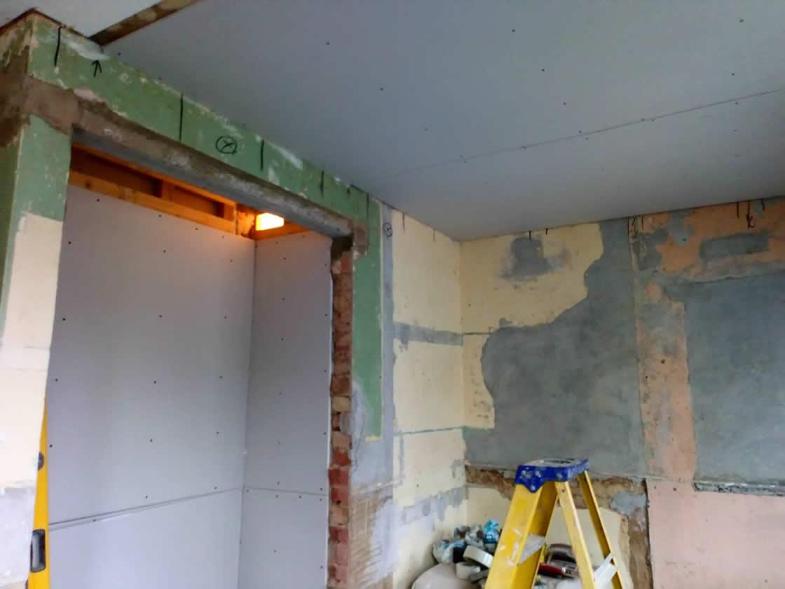 Carlshalton Beeches Kitchen Design During Construction