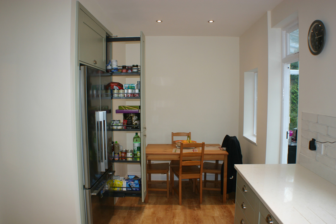 Carshalton Beeches Showing New Kitchen Diner with Additional Storage