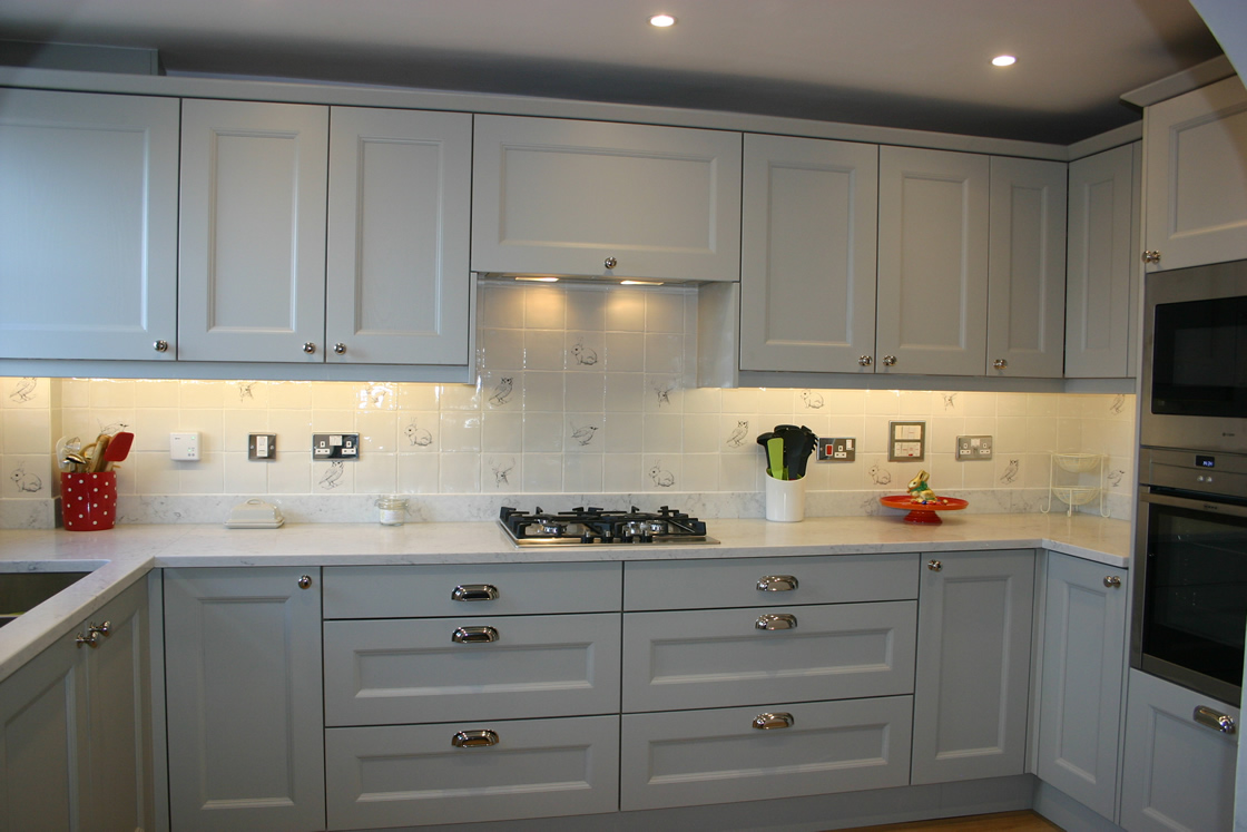 Bespoke Kitchen with Made To Measure Deeper Wall Units