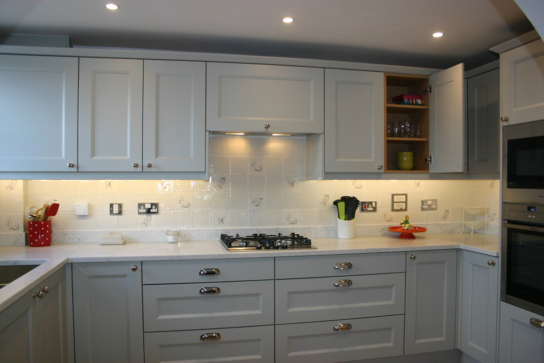Dove Grey Kitchen in Royal Earlswood Park Redhill Surrey