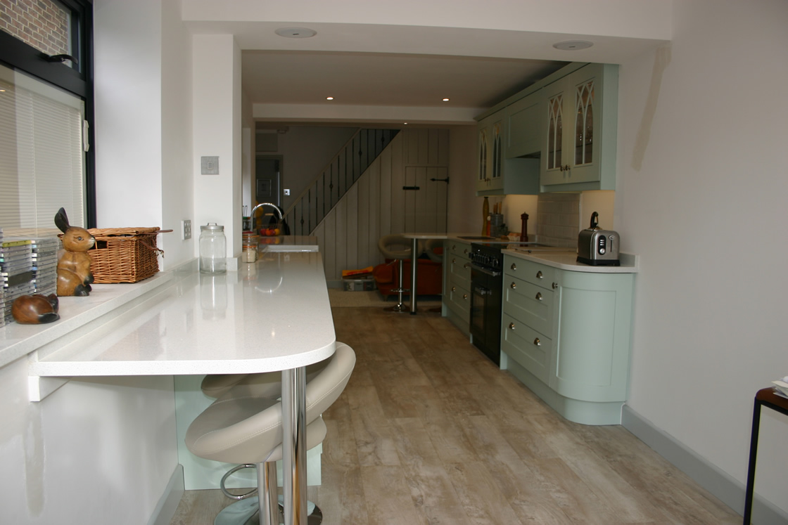 Merstham Kitchen in Farrow and Ball Teresa Green