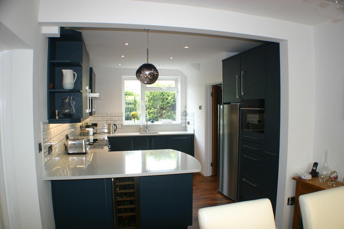 Bespoke Kitchen Diner Renovation in Merstham