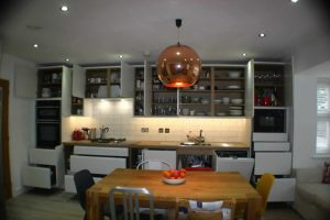 New Handle-less Kitchen with Improved Storage Capacity
