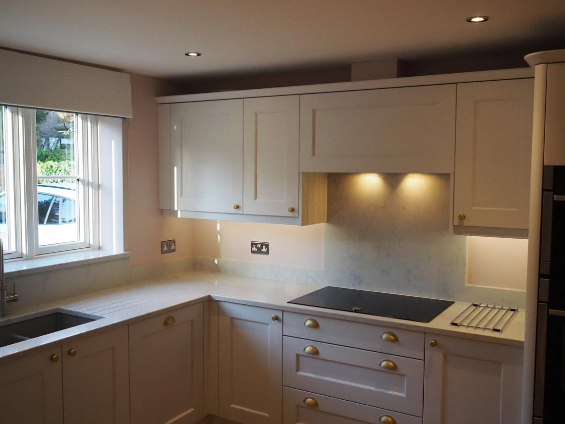 Bespoke Painted Kitchen Installation in Surrey