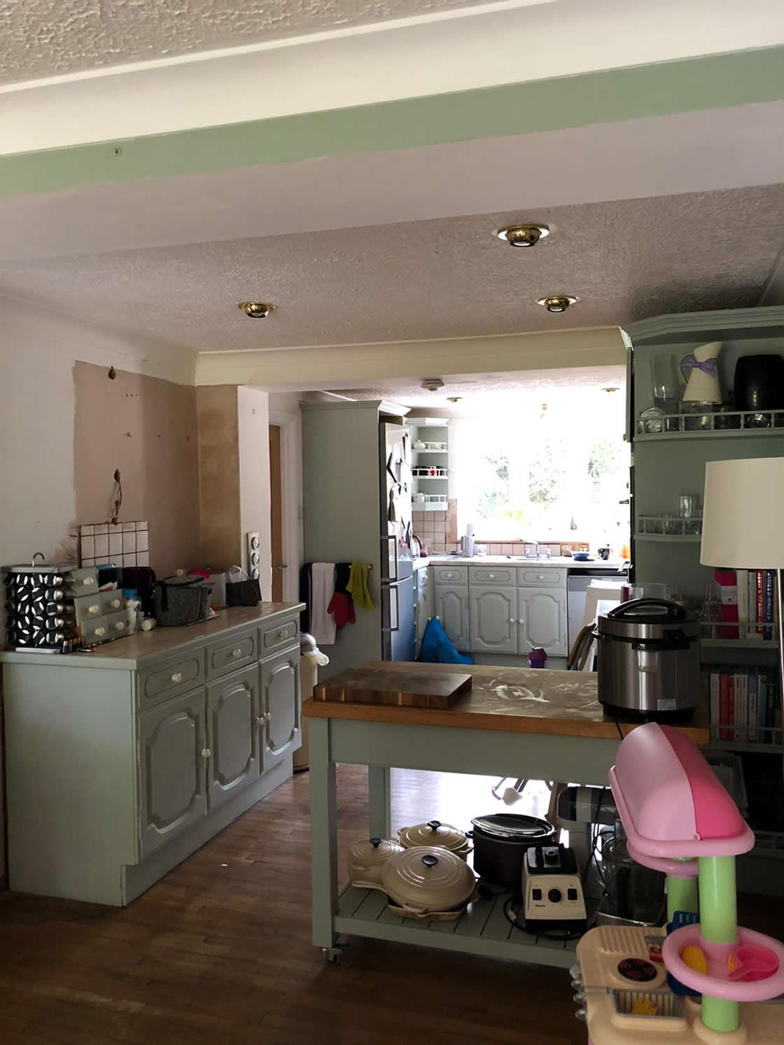 Caterham Painted Kitchen Project - Before 1